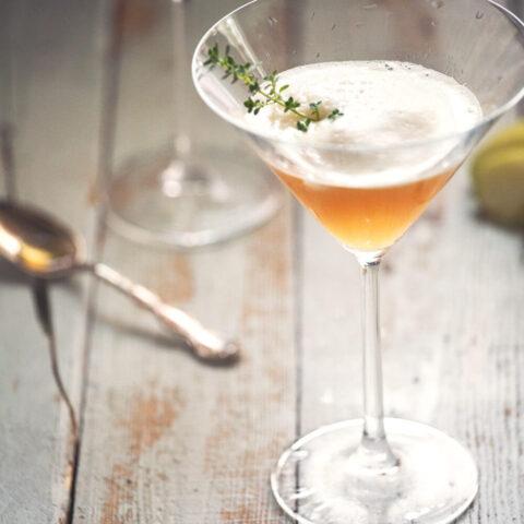 Apple Thyme Martini