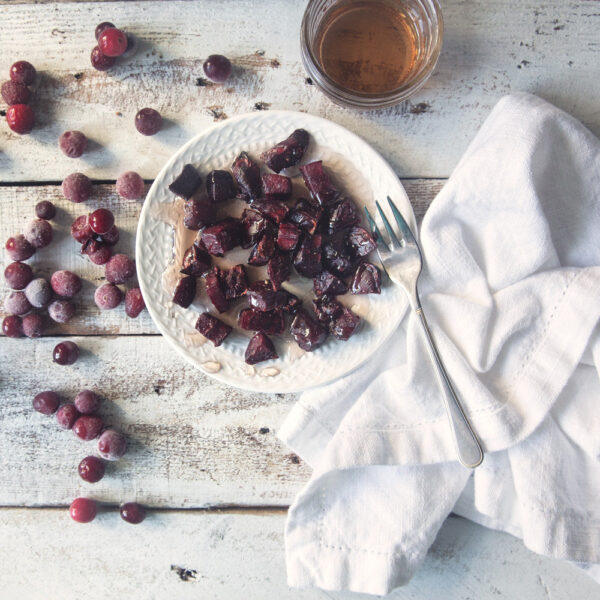Cranberry Pear Beets