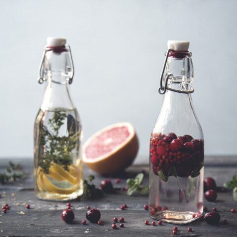 Cranberry Peppercorn Sage Vodka